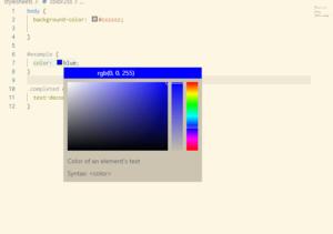 カラーを選ぶ画像