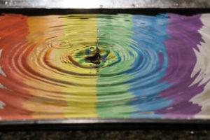 いろいろな色のまじり画像